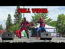 DEADPOOL and SPIDERMAN Dance Collaboration Shake It Off×Bop It×Pick It Up×I Will Always Love You