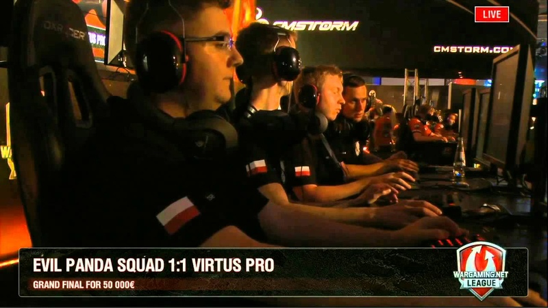 WGL EU Season 2 Grand Final Evil Panda Squad vs Virtus Pro