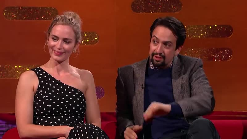 Lin-Manuel Miranda Stuns Emily Blunt By Rapping My Shot from Hamilton! _ The G