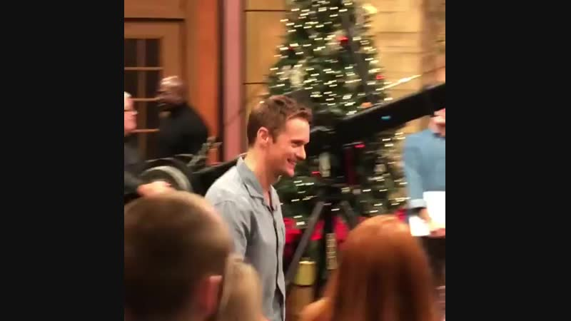 Alex pre-taped his appearance (Nov. 16) on Live with Kelly and Ryan today (November 5, 2018)