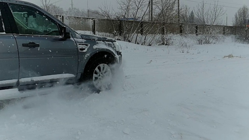 Land Rover Freelander 2 slow mo