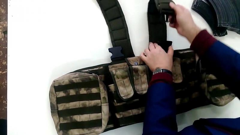 Боевой нагрудник Каспий Сотник Р.Т.С под бронеплиту