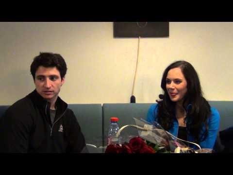 Fan meeting with Tessa Virtue Scott Moir 17 11 2013 Paris part 2