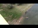 Двойное сальто. шестой прыг в Бычке