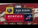 AAF 2019 / Week 04 / San Diego Fleet - Memphis Express / EN