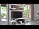 Fabriquer un meuble TV contemporain