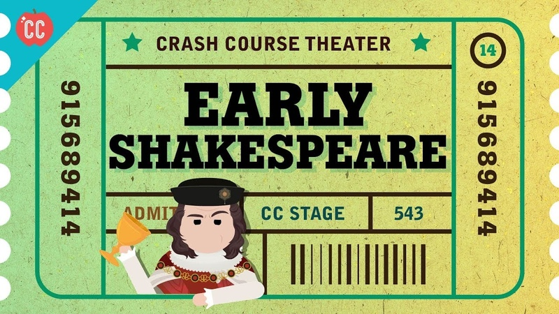 Straight Outta Stratford-Upon-Avon - Shakespeares Early Days Crash Course Theater 14
