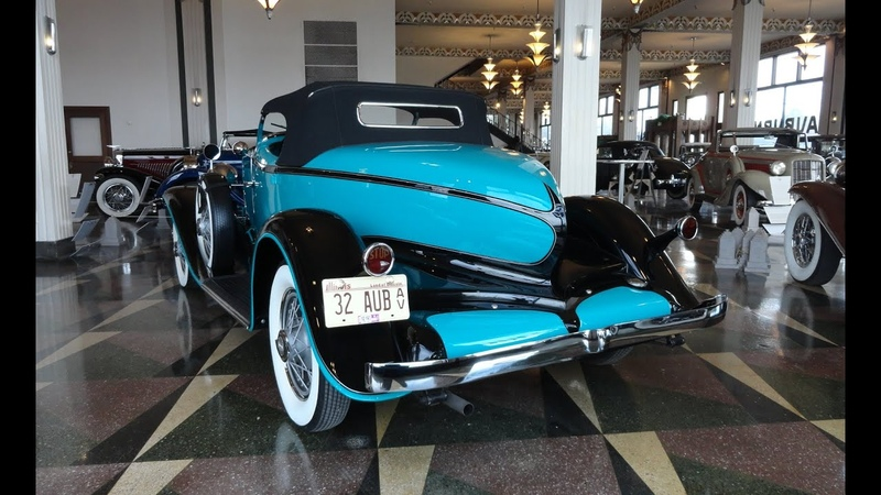 1932 Auburn Boat Tail Boattail Speedster 8-100A in Turquois Paint on My Car Story with Lou Costabile