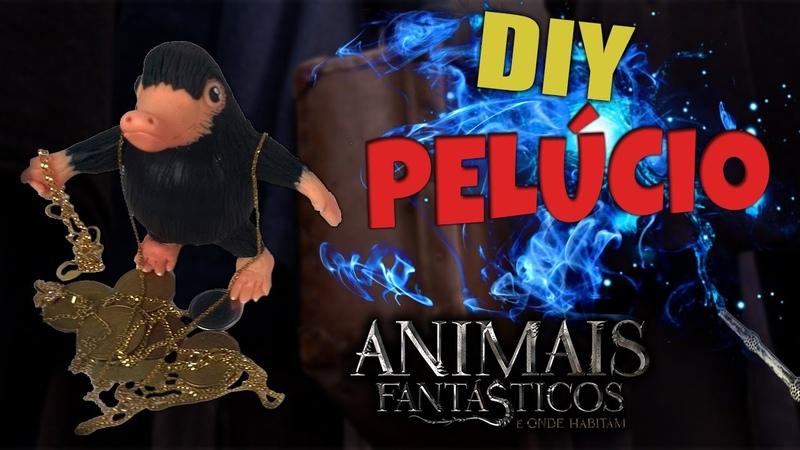 Como fazer o Pelúcio/Niffler-DIY ANIMAIS FANTÁSTICOS E ONDE HABITAM