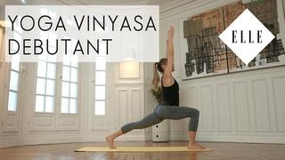 Cours de Yoga Vinyasa pour débutants I ELLE Yoga