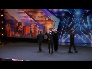 La Fontane Umane_ Men Spit Water And Swap Spit With Tyra Banks - Americas Got Talent 2018