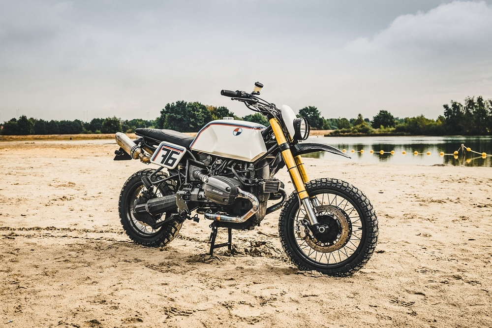 Moto Adonis: скрэмблер BMW R100GS MAD Baja 1100