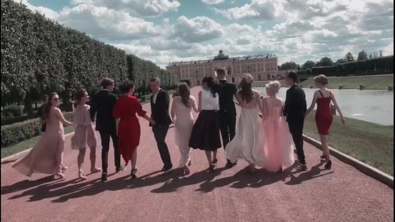 Детки идут в большую жизнь))