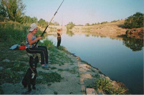 Наш пруд 2009 год