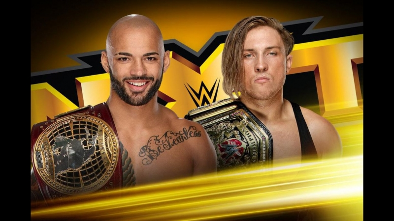 The One And Only Ricochet vs Bruserweight Pete Dunne NXT Highlights