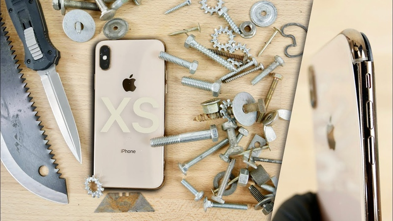 IPhone XS BEND Scratch Test! Should You Be Worried?