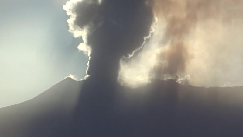 Etna vista da Cesaro' 19-02-2019