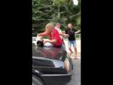 В Сочи после незначительного ДТП произошла драка между водителями пострадавших авто.