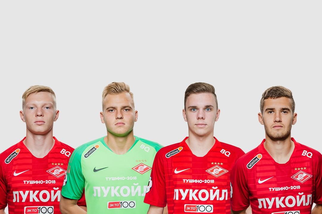 Максименко, Рассказов, Глушенков и Ломовицкий вызваны в молодежную сборную