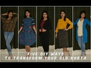 5 Ways to Style Your Old Kurta | Re-fashion Kurta (in just 5 mins)