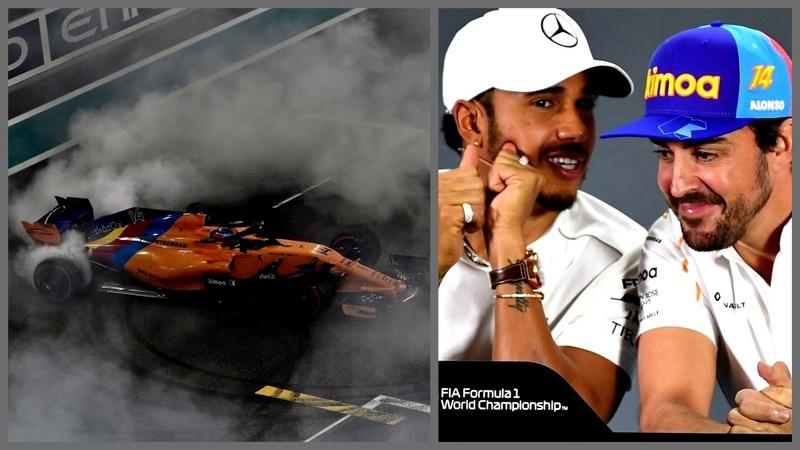 Финал великого сезона и карьеры Алонсо (Гран-При Абу-Даби 2018 Формула-1)