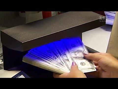 Гривні долари євро чи знаєте ви як відрізнити справжні від підробних