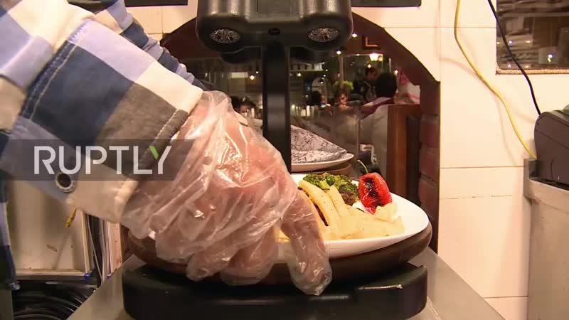 Иран ресторан RoboChef где искусственный интеллект встречается с изысканной кухней