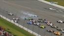IndyCar Series 2018. Pocono Raceway. Start Crash