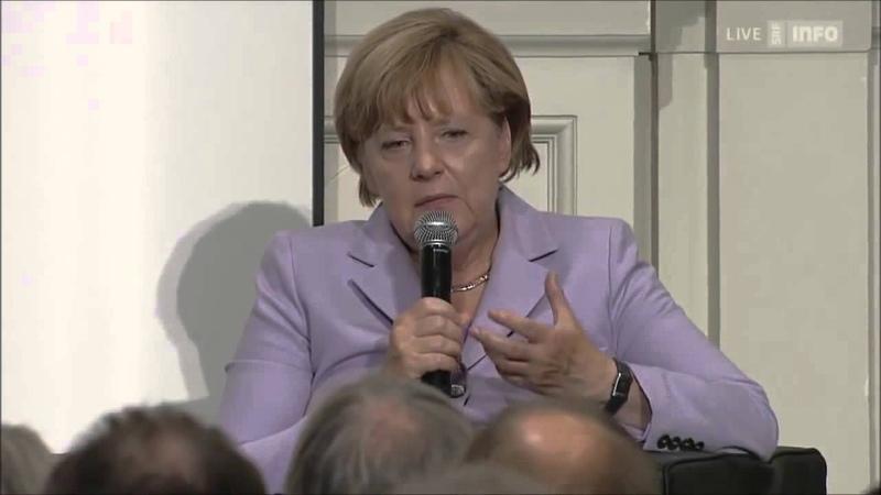 Deutschlands Selbstmord Angela Merkels Aufruf zur grenzen- und bedingungslosen Einwanderung ...
