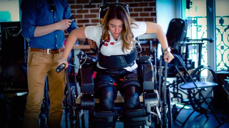 The Exoskeleton Helping With Rehabilitation - BBC Click || BBC Click