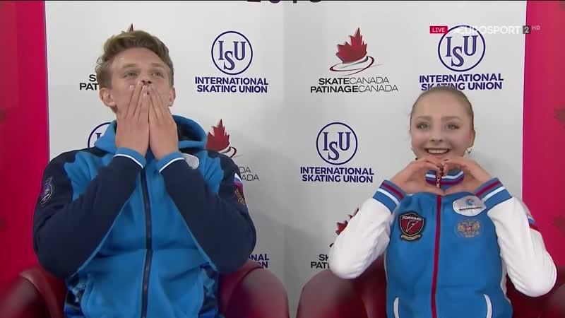 Aleksandra Boikova / Dmitrii Kozlovskii – FP – Canada International 2018