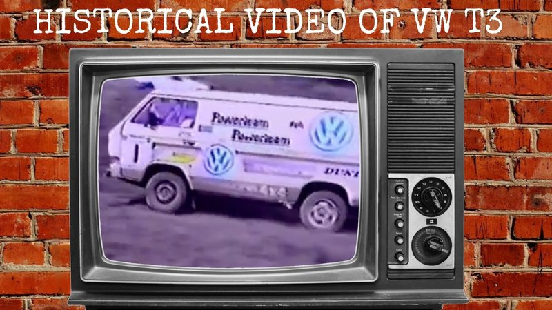 Historical Video of VW T3 (T25) Video of VW T3 Syncro