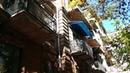 Уникальные фасадные элементы из натурального камня, дом в центре Еревана