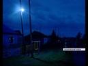 Несколько населенных пунктов Назаровского района остались без уличного освещения