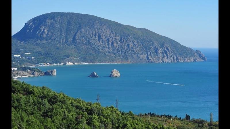 Самые красивые легенды Крыма Легенда о Медведь горе Аю Даг