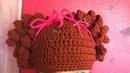 Gorro tejido a gancho con coletas súper cool Nya Crochet ❤️