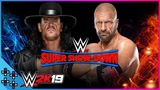WWE Super Show-Down Triple H vs. The Undertaker - Last Time Ever - WWE 2K19 Match Sims