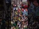 Passeata em apoio a Bolsonaro, hoje em nova Iguaçu- RJ