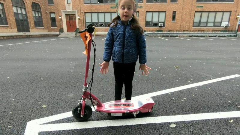 Elizabeth-NY/Razor E100 Electric Scooter from Birthday PRESENT