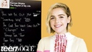 Kiernan Shipka Creates the Playlist to Her Life Teen Vogue