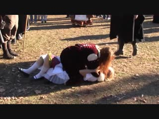 Lucrezia Amelia Catfight (Texas Renaissance Festival 2011) - Ye Olde Vlog