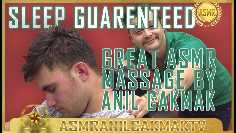 ASMR TURKISH BARBER MASSAGE (Razor Haircut,Head Massage,Back Massage,Shoulder Massage,Hair Cracking)