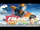 WINGSUIT RACING WITH GREIG | Rush (Oculus Rift VR Gameplay)
