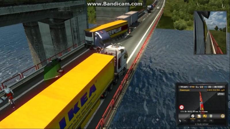 DOLBANATOR 174: Euro Truck Simulator 2 (Уфа, Самарская обл. Тольятти, Жигулёвск,... Курск)