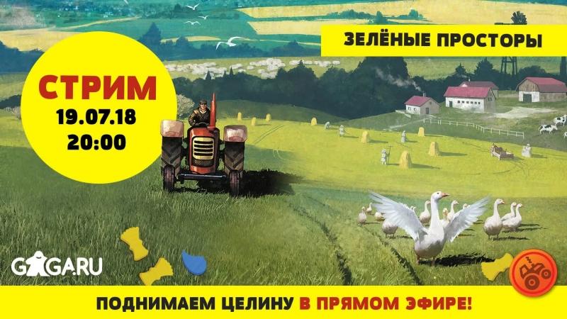 Live: Настольные игры от GaGa.ru aka GaGaGames!