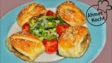 Турецкие Адана кебаб в тесте (дрожжевые булочки с говяжьими кебабами) Adana Kebab im Teigmantel Ahmet Kocht Folge 305