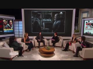 The Talk - Keanu Reeves Says Laurence Fishburne is shining in John Wick 3
