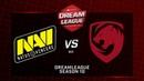 Na`Vi vs Tigers, DreamLeague Minor, bo3, game 3 [Godhunt Lex]