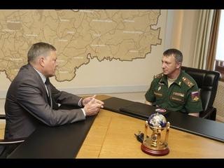 Правительство региона намерено продолжать укрепление партнерских связей с в/ч «Вологда-20»