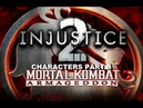 Mortal Kombat: Armageddon (K.A.F) - Injustice 2 characters - gameplay part 3